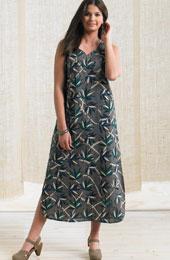 Puri Dress - Soft Grey/Multi
