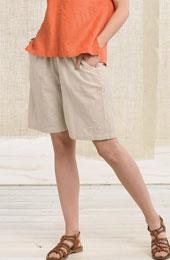 Kesari Shorts - Flax