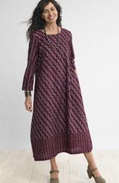 Ratna Dress - Plum