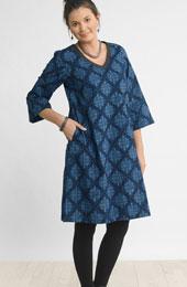 Champa Dress - Blue