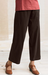 Kesari Knit Pants - Brown