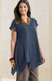 Sonali Top - Ink Blue