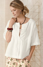 Chaaya Top - Soft White