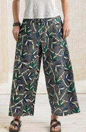 Sangli Pants - Soft Grey/Multi