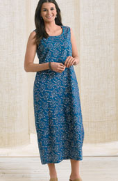 Asha Dress - Pool Blue