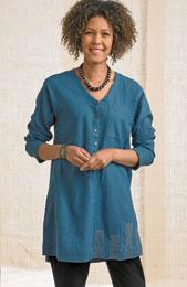 Pravine Shirt - Blue
