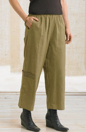 Kesari Pants - Wheat Stripe