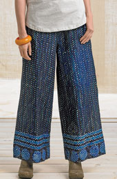 Sangli Pants - Lapis/Multi