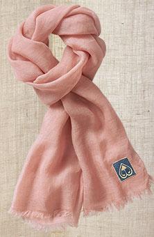 Linen Scarf - Peach