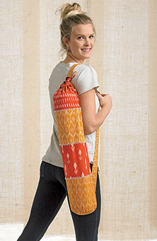 Yoga Mat bag - Orange/Mustard