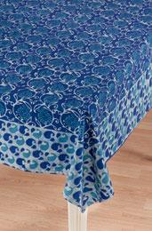 Tablecloth - Blue batik