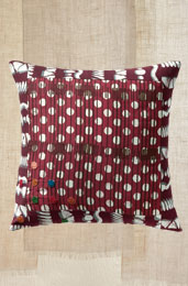 Throw Pillow - Maroon/Red