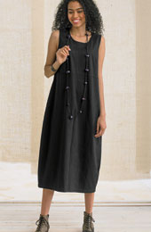 Asha Knit Dress - Black