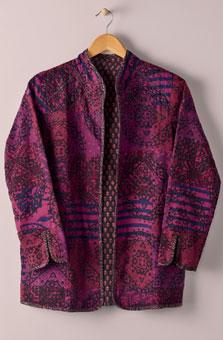 Reversible Amulya Jacket - Magenta