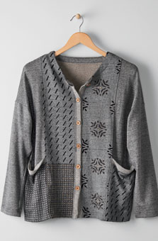 Arushi Jacket - Heather grey